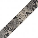 "1 1/4"" (32mm) Animal Print Leather Ribbon"