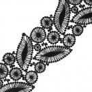 "3"" (76 MM) Leaf Embroidered Lace"
