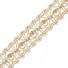 "7/8"" (22 MM) Metallic Center Loop Braid"