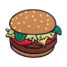 Iron On Burger Patch