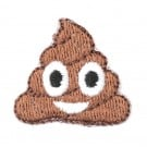 Stick On Poop Emoji Patch