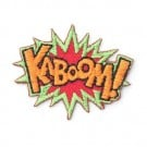 "Stick On ""Kaboom"" Patch"