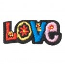 "Stick On ""Love"" Patch"