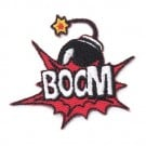 "Stick On ""Boom"" Bomb Patch"
