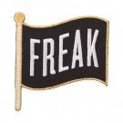 "Iron On ""Freak"" Flag Patch"