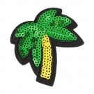 Iron On Palm Tree Sequin Patch
