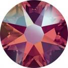 Light Siam Shimmer Swarovski Flatback Crystal