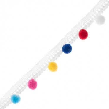 RAINBOW STRIPES 10mm ribbon x5 m