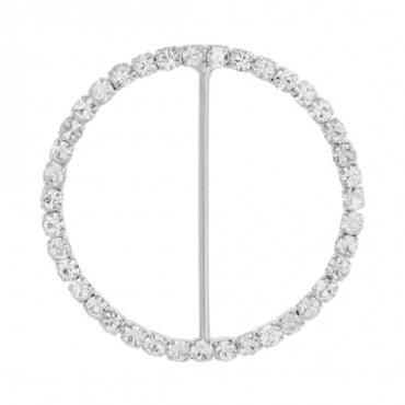 23mm letter C clear metal rhinestone flat back button headband center DIY